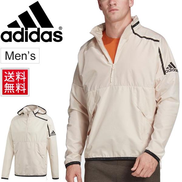ウインドブレーカー メンズ アウター アディダス ADIDAS M adidas ZNE Z.N.E. アノラック ウーブンジャケット スポーツウェア プルオーバー ウインドブレイカー 防風 男性 トレーニング ジム 試合 長袖 上着/FWQ62