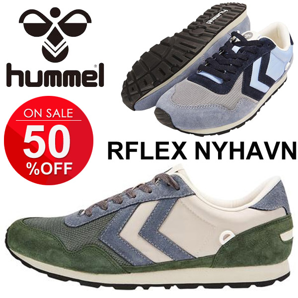 size 40 29995 9d737 Men's sneakers Hummel _Hummel reflex REFLEX NYHAVN retro running recovery  time shoes men's shoes casual shoes /HM63992