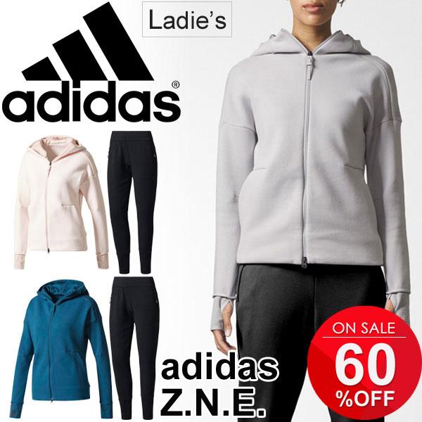 Parka sweat shirt double zip long underwear gym fitness sports casual wear  Z N E  (Z N E) /DMR25-DJF36 for the training suit sweat shirt jacket