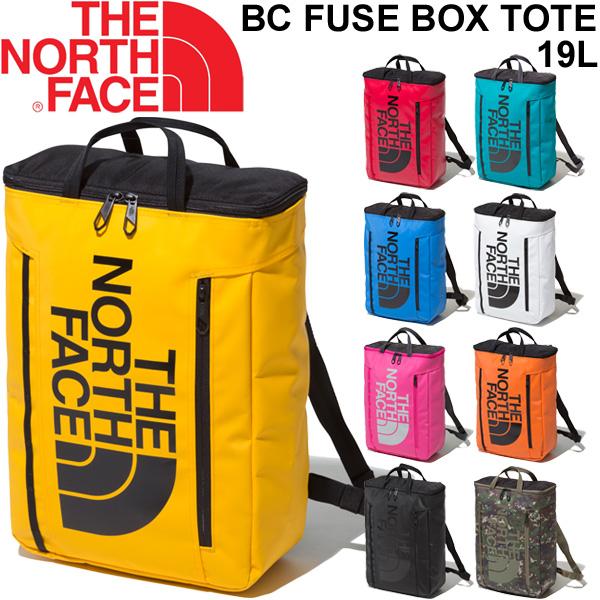 トートバッグ リュック 2WAY バッグ ノースフェイス THE NORTH FACE BCヒューズボックス トート 19L/バックパック 手提げ 鞄 カジュアル 普段使い BC Fuse Box Tote かばん/NM81956-