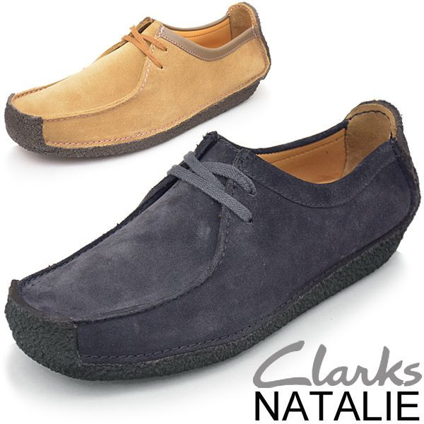 Clarks Clarks / men's shoes shoes /NATALIE Natalie / leather leather  loafers suede adhesive