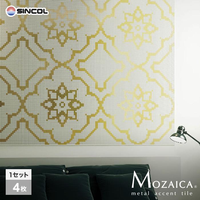 新感覚DIY!粘着シート付きアクセントタイル MOZAICA(モザイカ) 580mm角(1セット) MO530__mo530