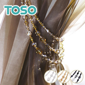 【カーテンアクセサリー】TOSO カーテンアクセサリー タッセル SWTT*01 02 03__ca-to-swtt