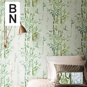 【壁紙】【のり無し】輸入壁紙 涼やかな印象の竹林柄 ESPOIR-NEW AGE- BN*219462 219463__tc-