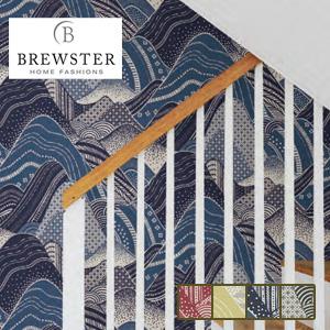 【壁紙】【のり無し】輸入壁紙 和を思わせる涼やかなデザイン ESPOIR-NEW AGE- BREWSTER*2764-24332 2764-24334 2764-24333 2764-24331__tc-