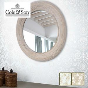 【壁紙】【のり無し】輸入壁紙 角度で輝くパールカラーの壁紙 MANOR HOUSE Cole&Son*88-10041 88-10042__tc-
