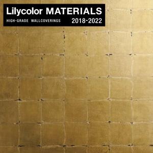 【壁紙】【のり無し壁紙】Lilycolor MATERIALS Metallic-金銀手貼箔- LMT-15218 洋金古美箔押__nlmt-15218