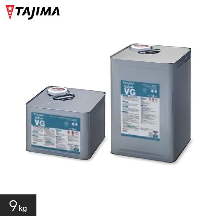 【ノンスリップシート】タジマ 1液性一般耐水工法用接着剤 セメントVG 9kg__tj-vg-9