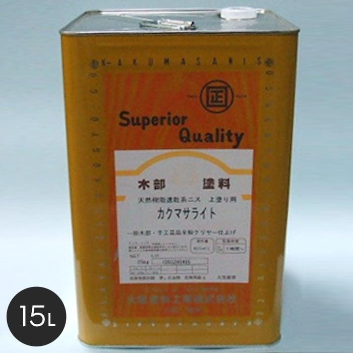 【塗料】【大阪塗料】カクマサライト 15L 黄褐色透明__ok-ks-15