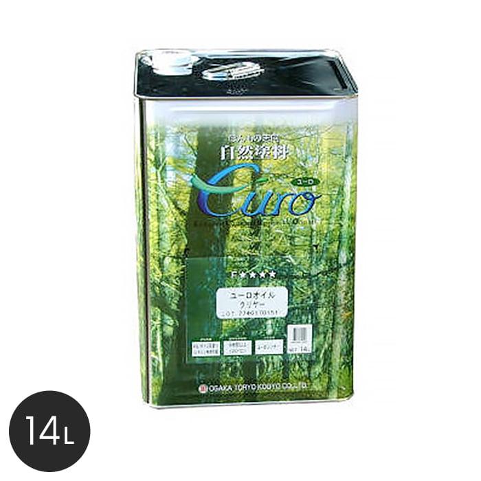 【塗料】【大阪塗料】ユーロオイルクリヤー 14L 透明__ok-uoc-14