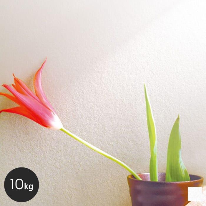 【塗料】ルナファーザー用天然塗料 ルナしっくい 10kg ホワイト__rn-rfs-whi