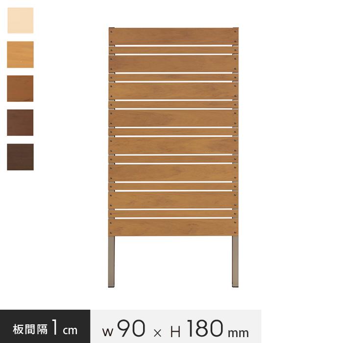 【エクステリア】お庭の目隠し、ガーデニングに! 本格DIY【樹脂製】パネルフェンス単体 マルチボーダー 1cm間隔 幅90×高さ180cm*WT CP LB CO DB BK__pf-mb1801-