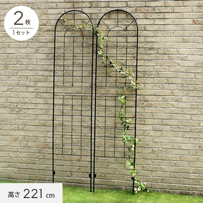 【エクステリア】アイアンフェンス220(2枚組) 500×13×2210mm__ybif-220-2p