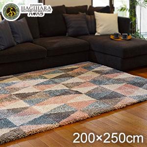 【ラグカーペット】HAGIHARA ラグカーペット ロイヤル6702 200×250cm__cp270045520