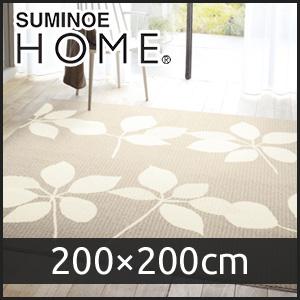 【ラグカーペット】スミノエ ラグマット HOME ピアンタ 200×200cm__cp13460544-2020-9
