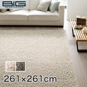 【ラグカーペット】スミノエ BIG リネンコットン 261×261cm*LC1 LC9__cp13135104-4-