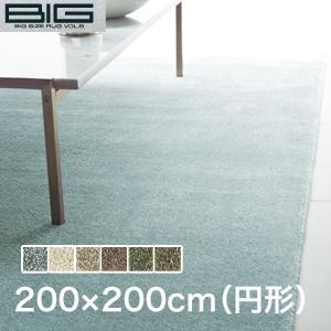 【ラグカーペット】スミノエ BIG Mカーム 200×200cm(円形)*CL38 CL1 CL2 CL67 CL50 CL39__cp13440314-