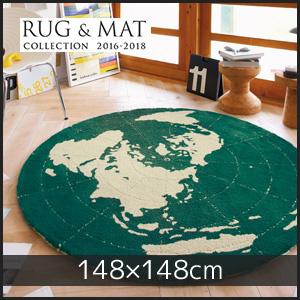 【ラグカーペット】東リ 高級ラグマット Nature Craft 円形 148×148cm__tor3619