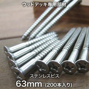 ステンレスビス 63mm (200本入り)__lj2aj054