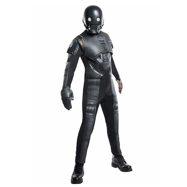 【ポイント】【あす楽】【K-2SO デラックス コスチューム】K-2SO DX Costume(adult) メンズ 男性 仮装 衣装 コスプレ スターウォーズ starwars Rogue One ローグワン SF 全身 マスク 映画 キャラクター アダルトサイズ ルービーズ 大人 Rubie's ドロイド Disney ハロウィン