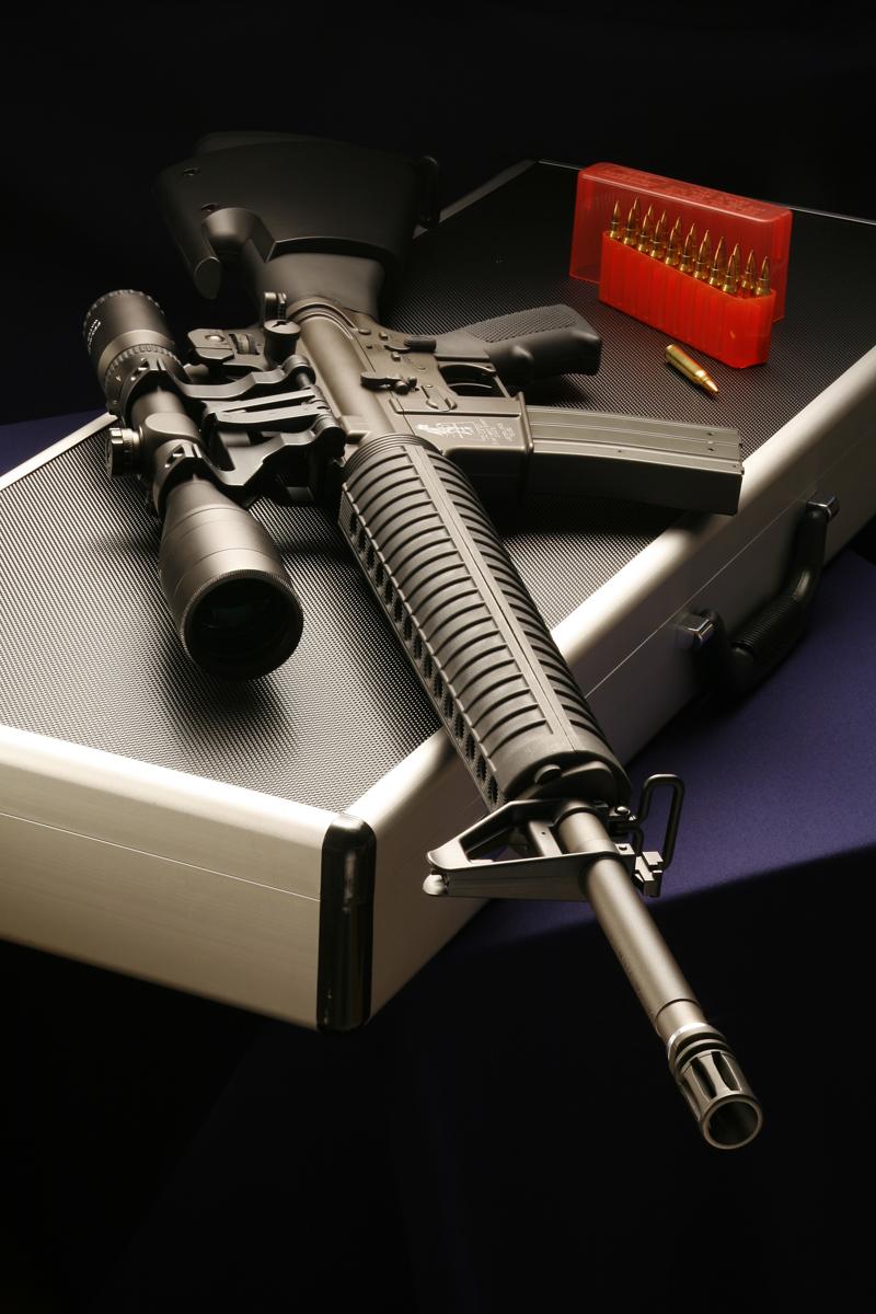窪骷髏 13 M16 狙擊步槍槍案全套