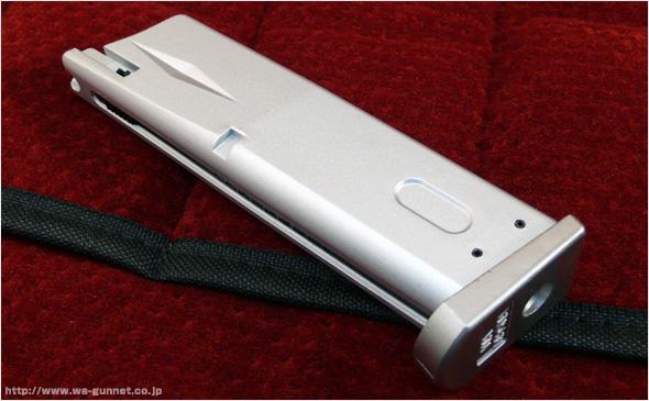 ベレッタ M92FS マガジン シルバー〈WA-1PS〉