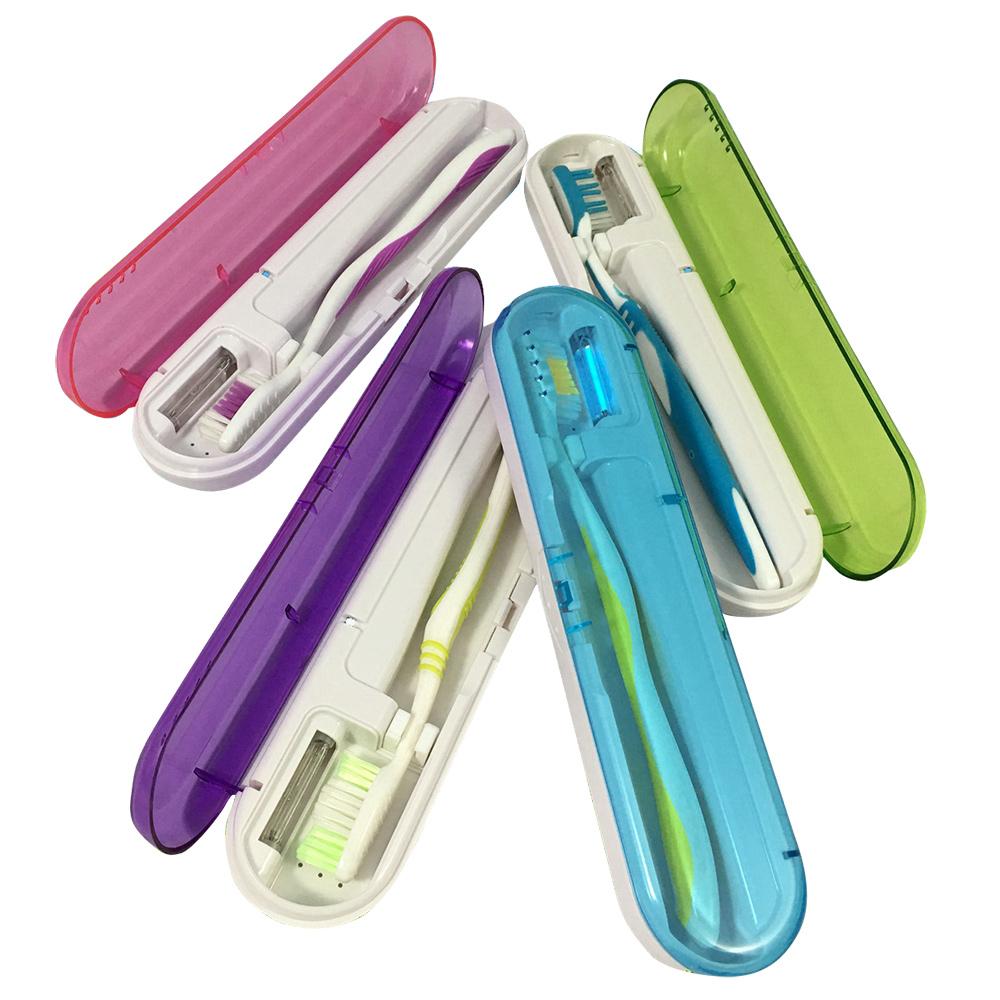 からだの健康は 歯の健康から 毎日使う歯ブラシだから 清潔に保ちましょう コンパクトですっきりお洒落 無料 歯ブラシケース 紫外線 日用雑貨 メール便 歯ブラシ入れ AT-08 即納最大半額 消毒