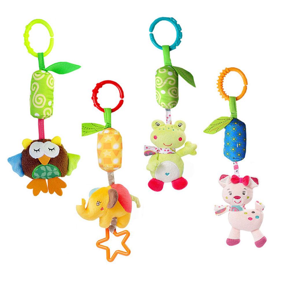 振れると優しい音がなる 可愛いベビーカー用玩具4ピースセットです 吊り下げ 玩具4ピース 低価格 おもちゃ ベビーカー OUTLET SALE ベビーベット ひっぱるおもちゃ 動物 JJOVCE-4SET バンビ ぬいぐるみ フクロウ ゾウ 定形外郵便 アニマル 音が鳴る カエル