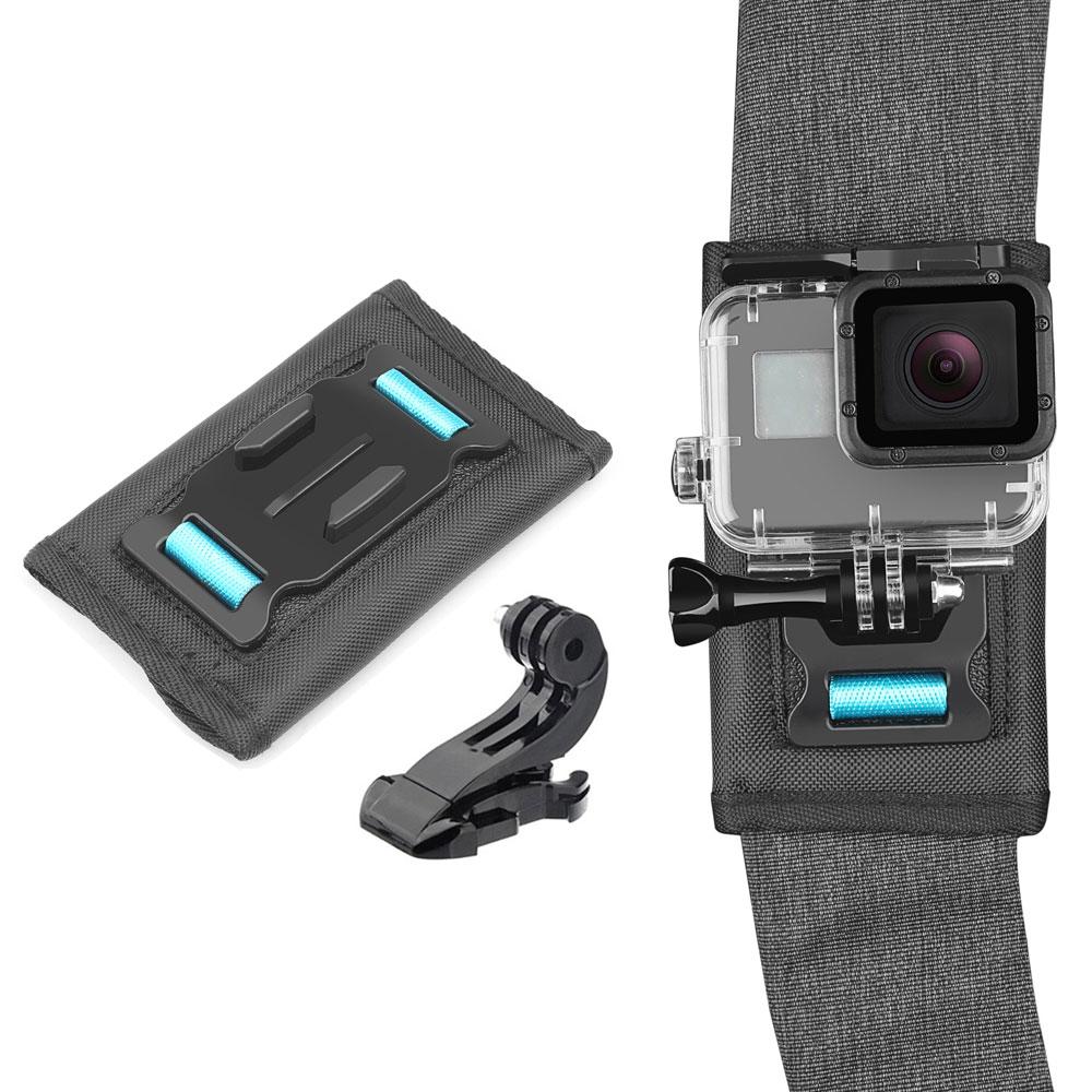 バックパックやリュックのベルトに簡単に取り付け SJCAM バックパックマウント 新品 送料無料 リュック ショルダーバッグ カメラホルダー アクションカメラ 在庫処分 GoPro アクセサリー SJ-BPST 定形外郵便