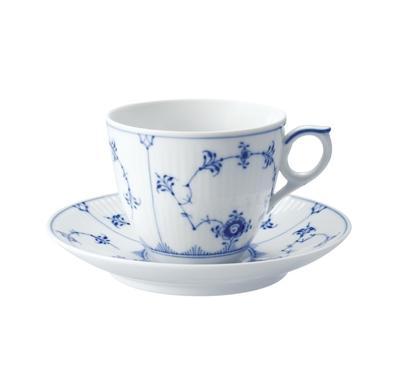 101-071ブルーフルーテッドプレインコーヒー【ロイヤルコペンハーゲン】