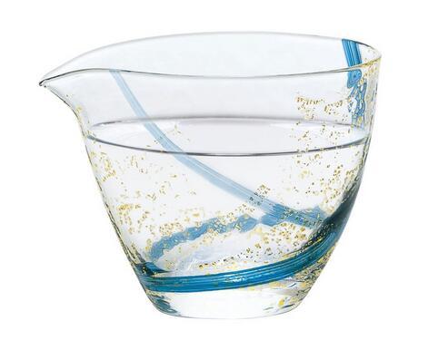 ハンドメイドガラス 冷酒グラス 記念日 贈り物 63700 八千代窯 往復送料無料 東洋佐々木ガラス 片口 おトク