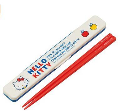 筷子筷子集 Hello Kitty (你好凱蒂 70 的) 聽起來聲音哈市 18 釐米 ABC 3