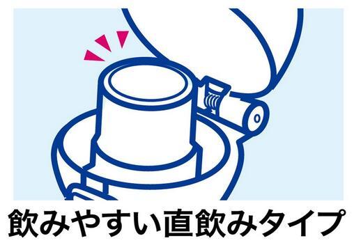 (閉唇低唱薄荷拼湊細工)支持洗碗機的直喝普拉按一個按鈕瓶PSB5SAN