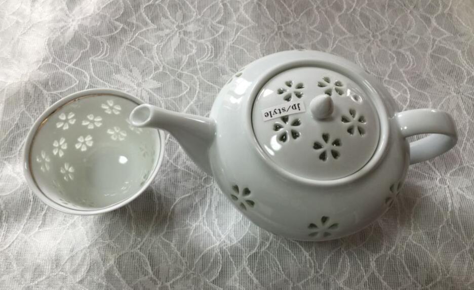 TS-13水晶花詰 ポット茶器揃【有田焼】【玉有】