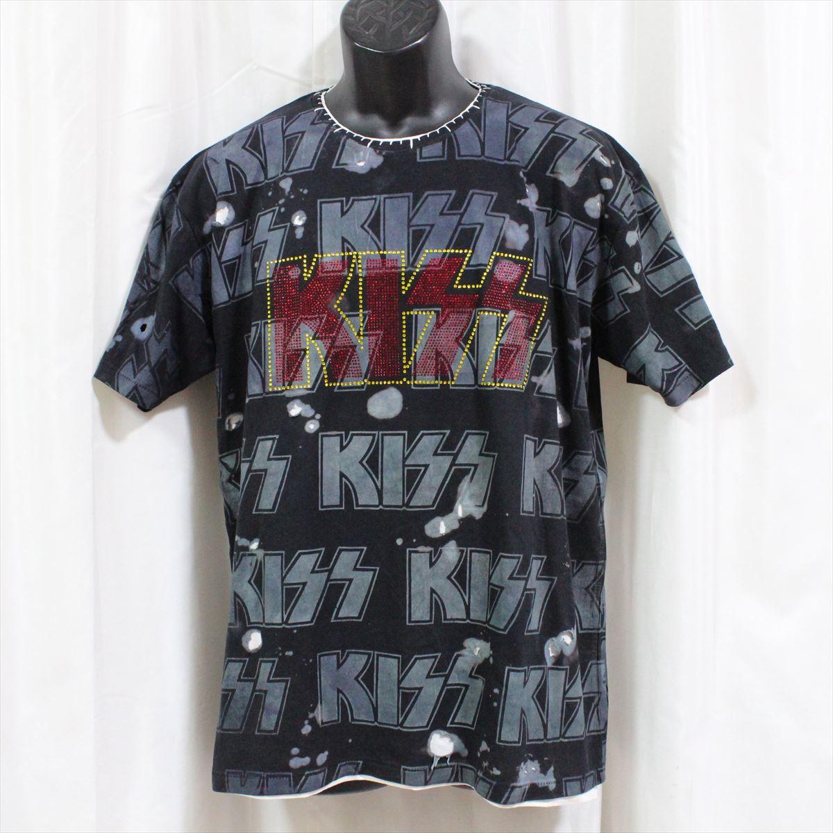 【送料無料】サディスティックアクション SADISTIC ACTION アイコニック ICONIC COUTURE メンズ半袖Tシャツ KISS 新品 黒 アメリカ製