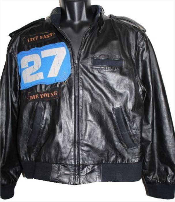 【送料無料】フレッシュカルマ Fresh Karma メンズビンテージレザージャケット ブラック 新品 黒 アウトレット 革