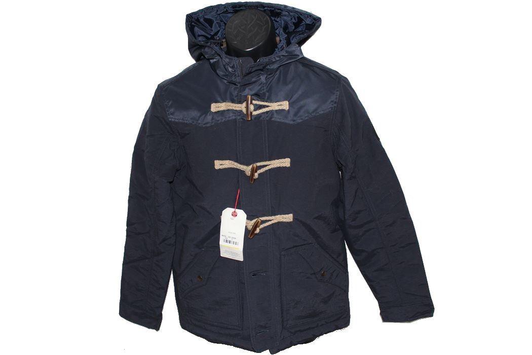 リプレイ REPLAY 値引き メンズ アウター ダッフル ネイビー 奉呈 コート ジャケット 新品