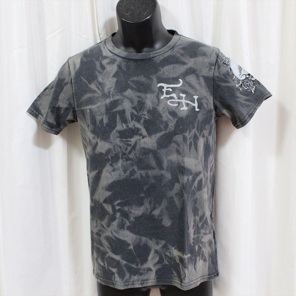 エドハーディー ed hardy メンズ半袖Tシャツ ブラック M02VTT555