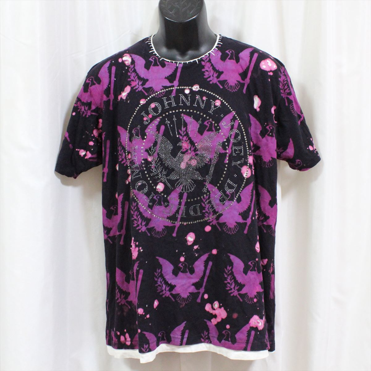 【送料無料】サディスティックアクション SADISTIC ACTION アイコニック ICONIC COUTURE メンズ半袖Tシャツ ラモーンズ 新品 アメリカ製