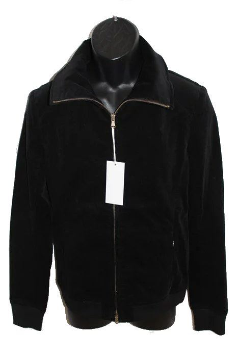 エイチワイエム hym メンズジップアップブルゾン ブラック 日本製 新品 ジャケット