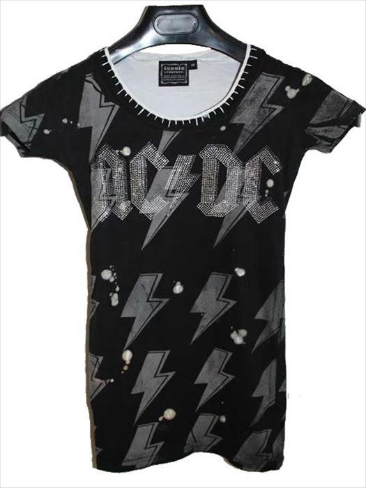 サディスティックアクション SADISTIC ACTION アイコニック ICONIC COUTURE レディース半袖Tシャツ