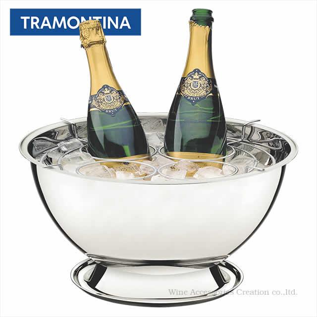 トラモンティーナ ワイン・シャンパンクーラー 4ボトル用 ND360ST ※ラッピング不可商品