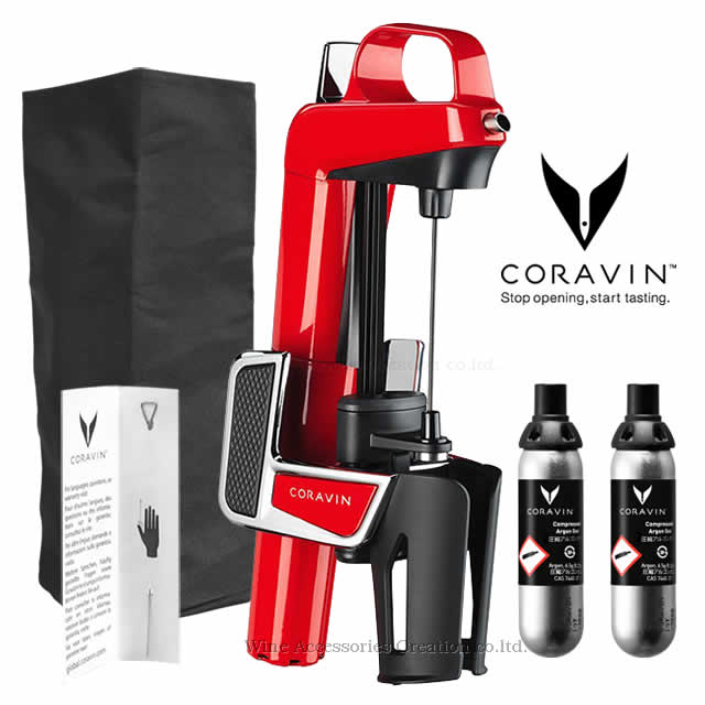 【在庫限りの特別価格】CORAVIN コラヴァン モデル2 エリート レッド【メーカー保証+WAC保証=3年保証】 CRV1003