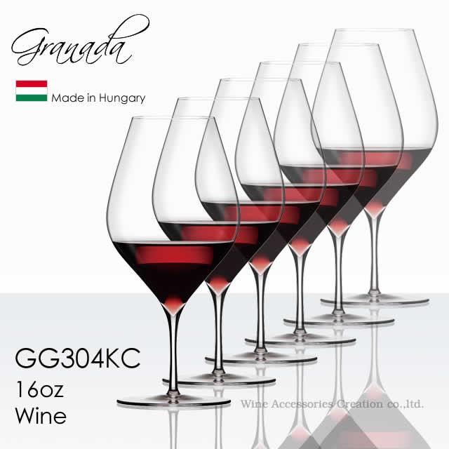 木村硝子店 Granada グラナダ 16oz ワイン 590ml 6脚セット【正規品】 GG304KCx6 ラッピング不可商品