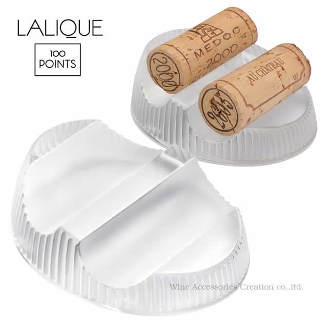 LALIQUE ラリック 100ポイント 2コルクホルダー(ブッショントレイ)【正規品】10505200