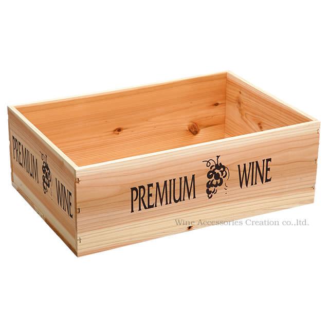 商品追加値下げ在庫復活 ワインのストックや物入れ 本棚等に ワイン木箱 安い 激安 プチプラ 高品質 ラッピング不可商品 ナチュラル 陳列用木箱