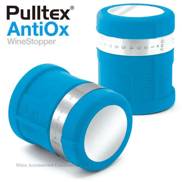 スペインソムリエ協会 イタリアソムリエ協会公認 画期的な簡単酸化防止 アンチオックス ストッパー Pulltex AntiOx ブルー オックス アンチ 正規品 1年保証 今季も再入荷 TEX092BL プルテックス