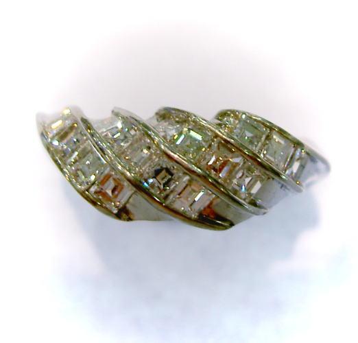 Pt900プラチナダイヤモンド1.0ct リング♪