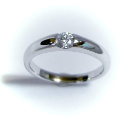 プラチナ ダイヤモンド0.2ct リング(指輪)♪