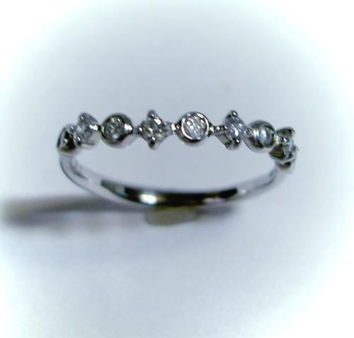 プラチナ ダイヤモンド0.24ct リング(指輪)♪